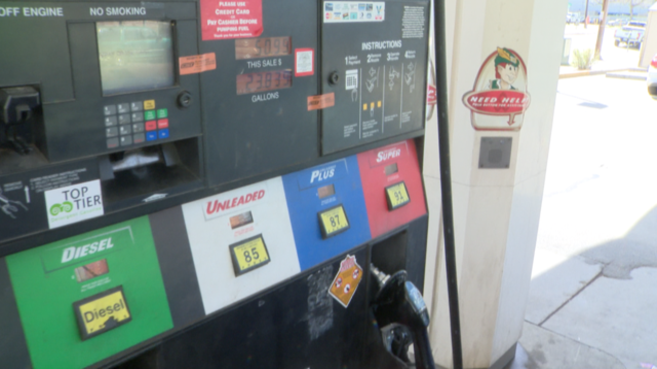Study: Drivers overpaying for gas