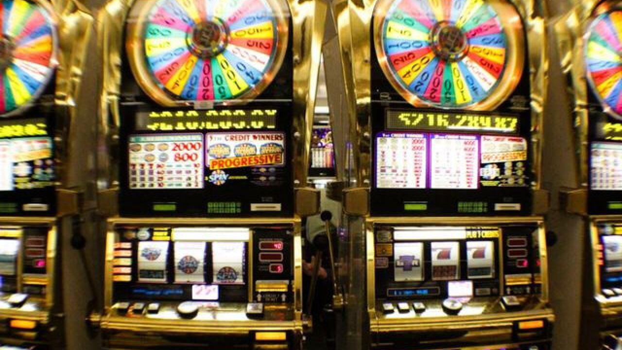 Slot machine wins las vegas