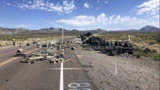Crash Closes Nevada Highway