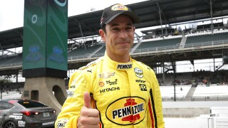 Helio_Castroneves_103rd Indianapolis 500 - Carb Day