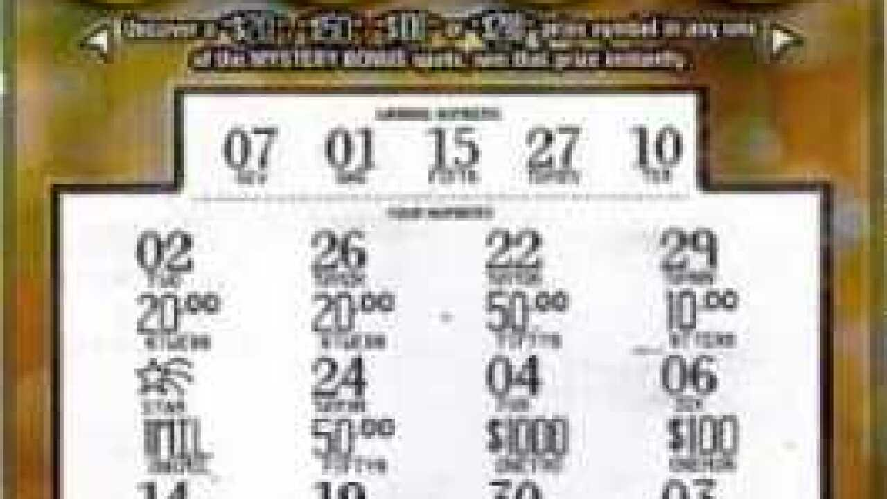 Grand Rapids woman wins $1 million playing the Michigan Lottery's tax free $1,000,000 instant game