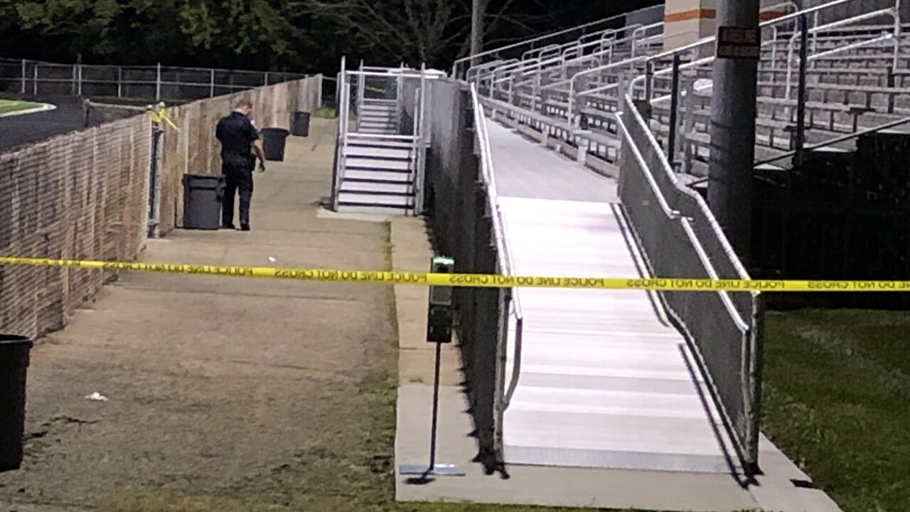 2 shot during Ohio high school football game