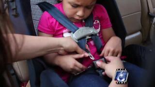 TxDOT free child safety seat inspections