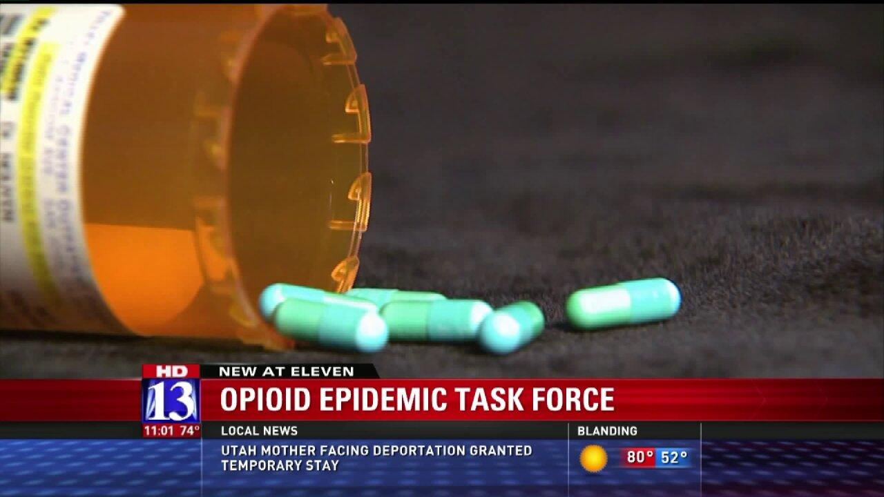 Task force formed to combat opioid deaths inUtah