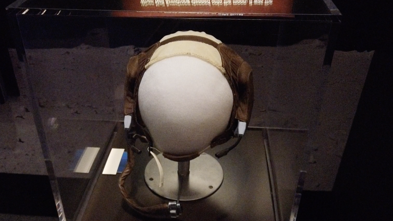 Neil Armstrong exhibit headset
