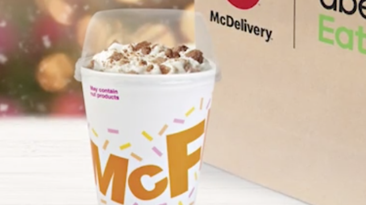 McDonald's unveils first seasonal McFlurry since 2012
