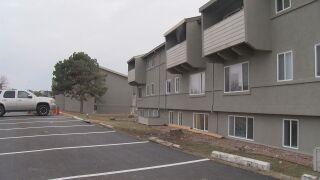 Apartment complex evacuated
