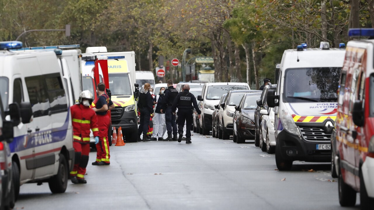 2 wounded in Paris knife attack near ex-Charlie Hebdo site; police open terror investigation