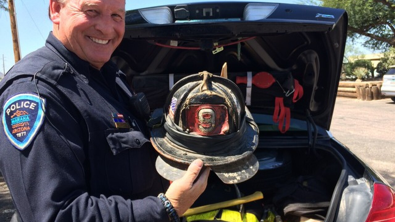 9/11 first responder remembers horrific attack