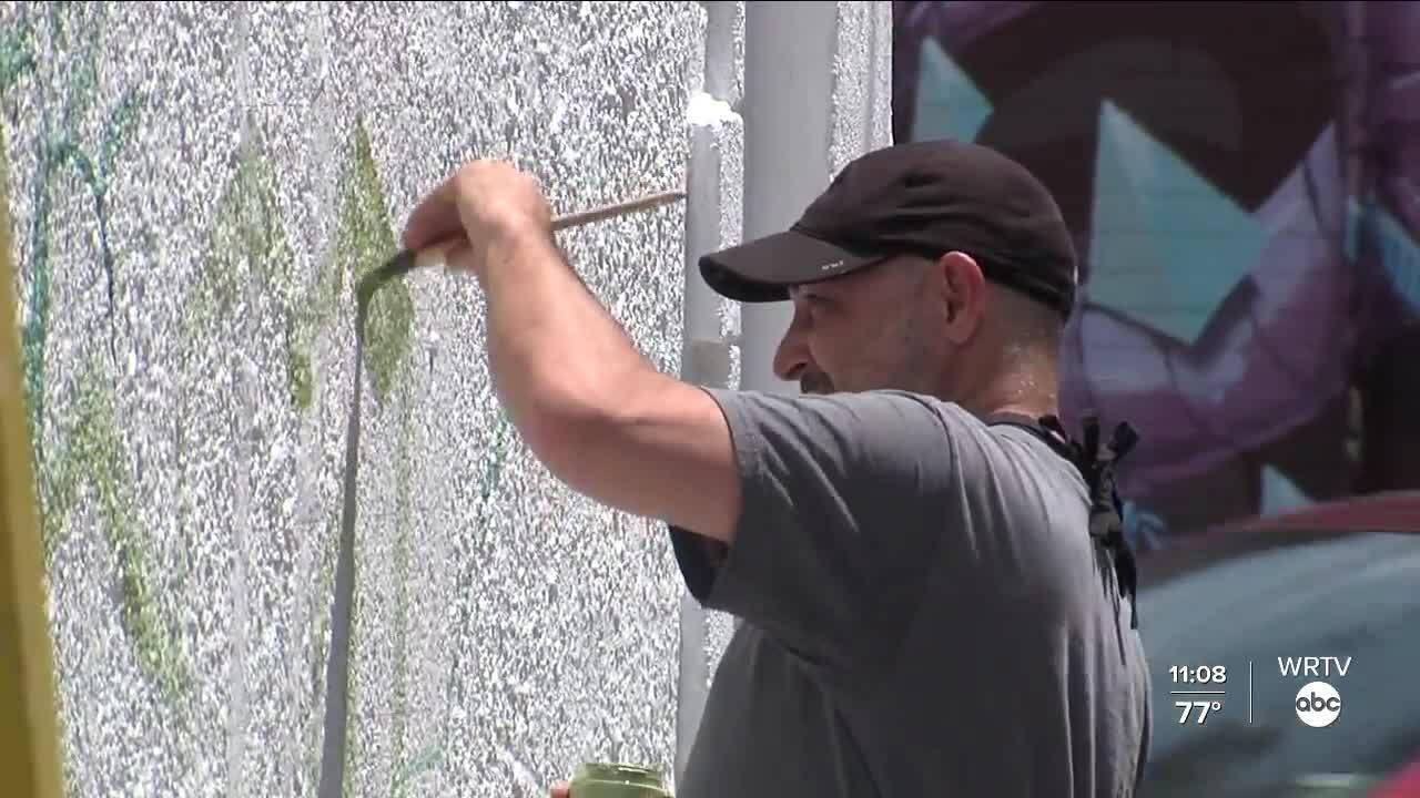 Graffiti Alley artist