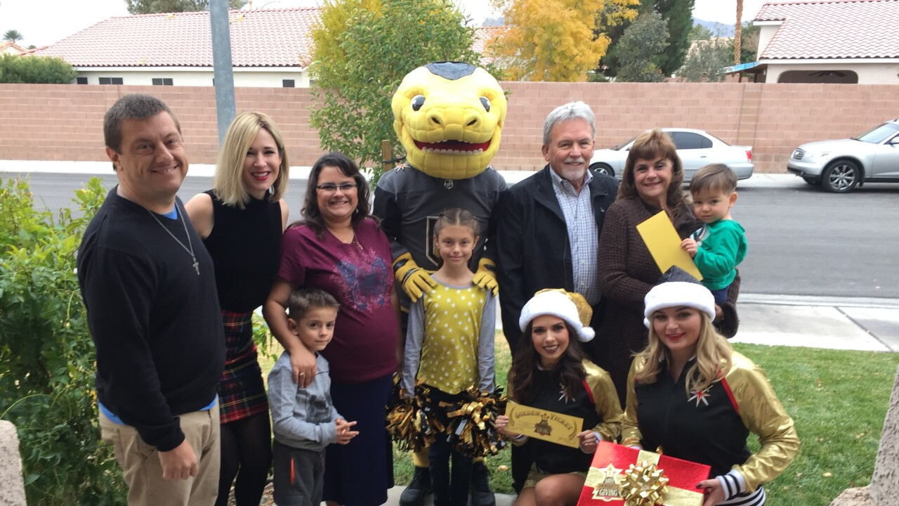 13 Days and Knights of Giving - The Zwijac Family