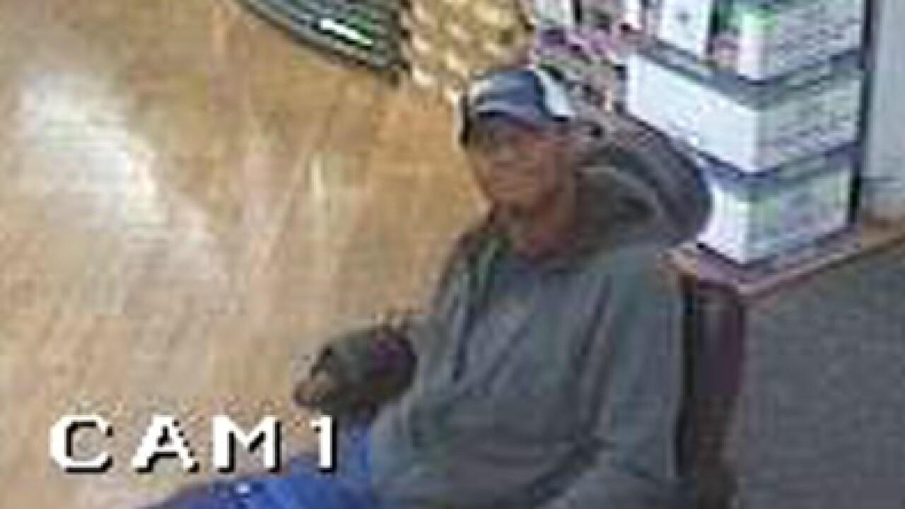 Chesapeake Police trying to identify man in connection with stolen credit card