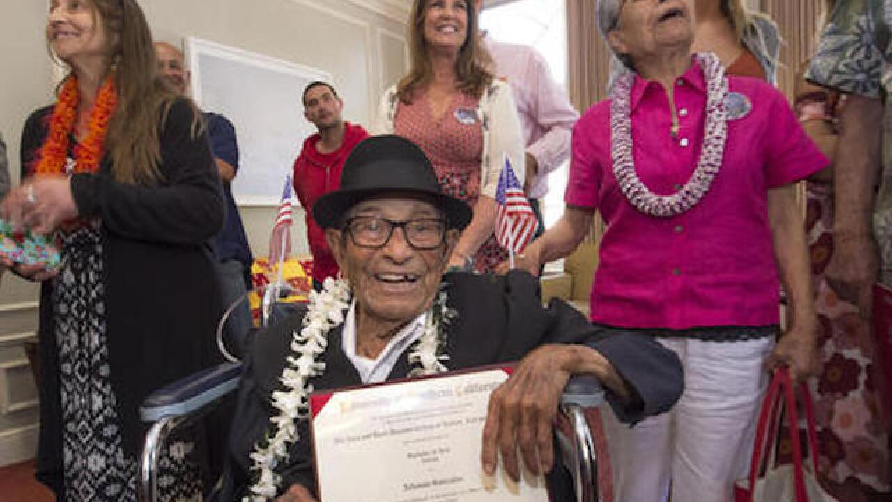 96-year-old graduates from USC