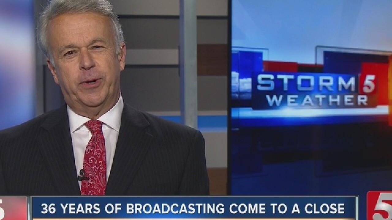Ron Howes Says Farewell To NewsChannel 5