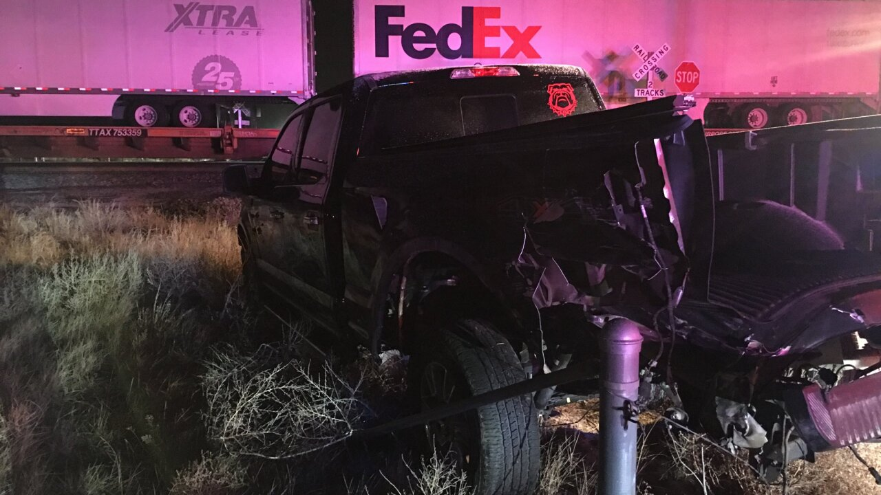 Nobody injured in train, truck crash in Weld County Thursday morning