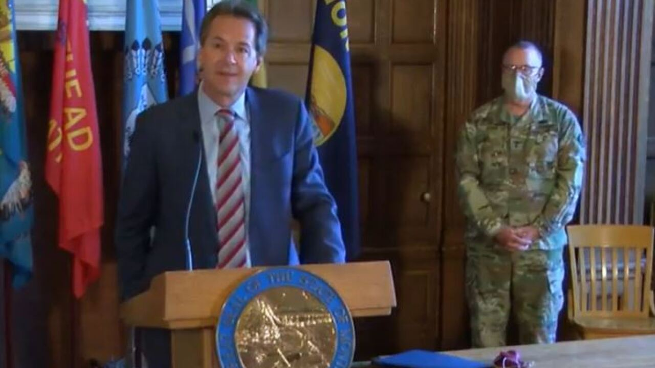 Watch Live: Bullock gives update on masks, testing, rise in COVID-19 cases 7-15-20