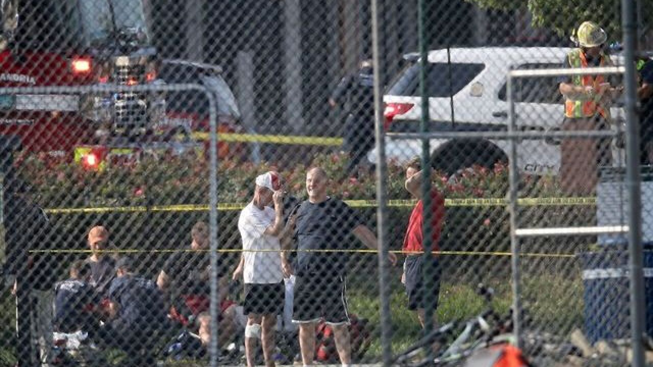 Shooting reported at congressional ball practice