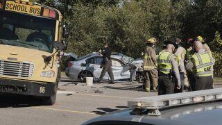Camden County school bus crash (October 20)