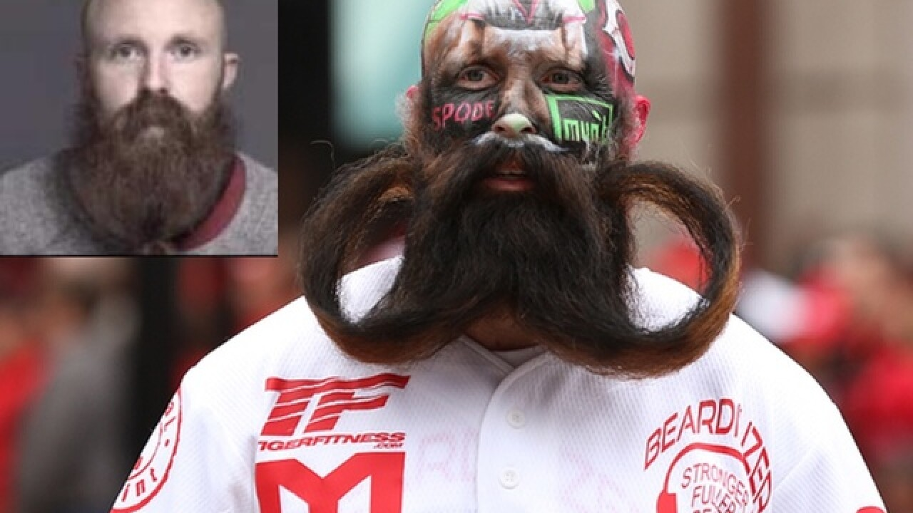 local bengals reds beard guy arrested on drug trafficking charges