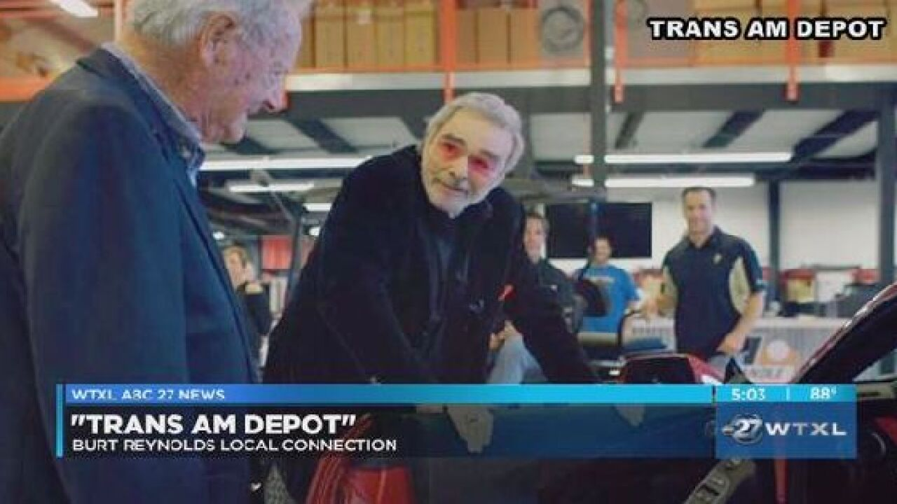 Trans Am Depot in Tallahassee reflects on Burt Reynold's passing