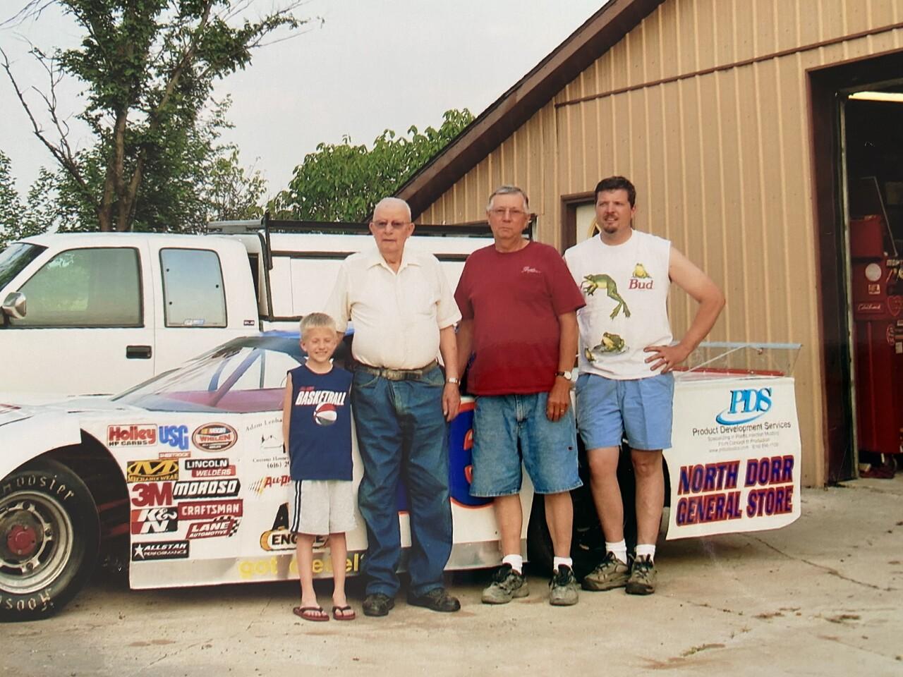 Doug Rodanhisler with his father, Jim