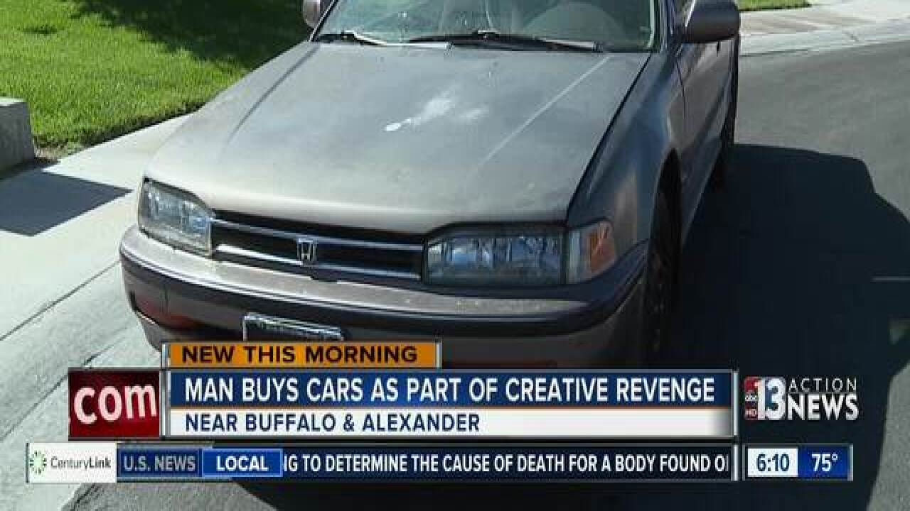 Man buys cars to junk up his year as part of creative revenge plan