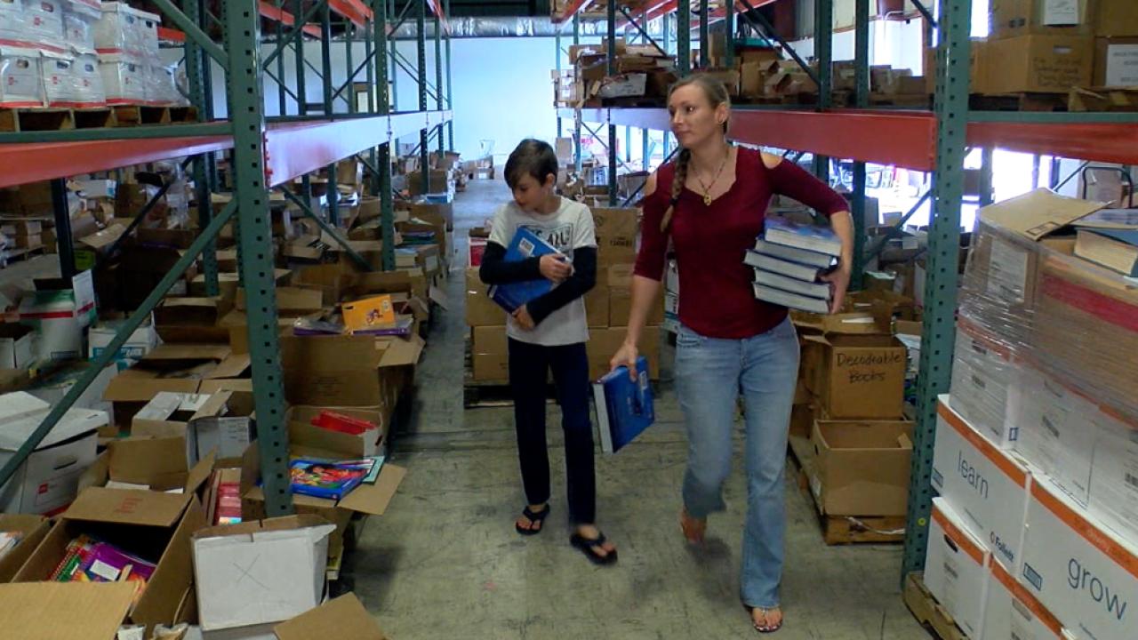 Bartow free books warehouse