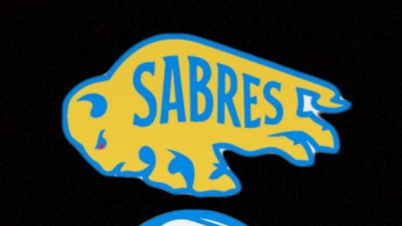 check out be430 836fa NHL teases possible Sabres Winter Classic logos