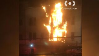 Bronx fire injures 14 people