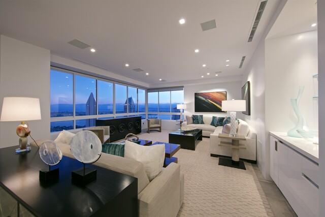 Downtown condo has high-rise San Diego Bay views
