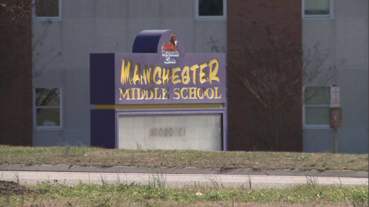 Chesterfield juvenile charged with sex crime at middleschool