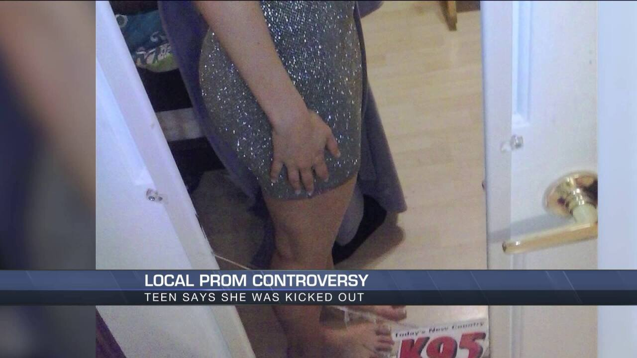 Va. teen kicked out of prom; photo shows dress met length requirement