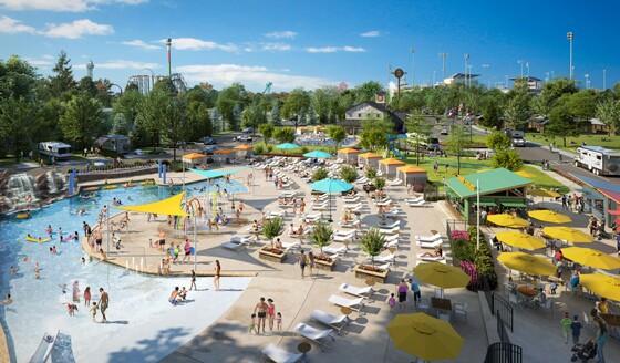 Camp Cedar pools