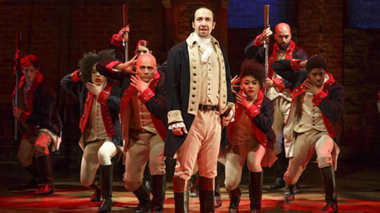 'Hamilton' leads Tony Awards nominations