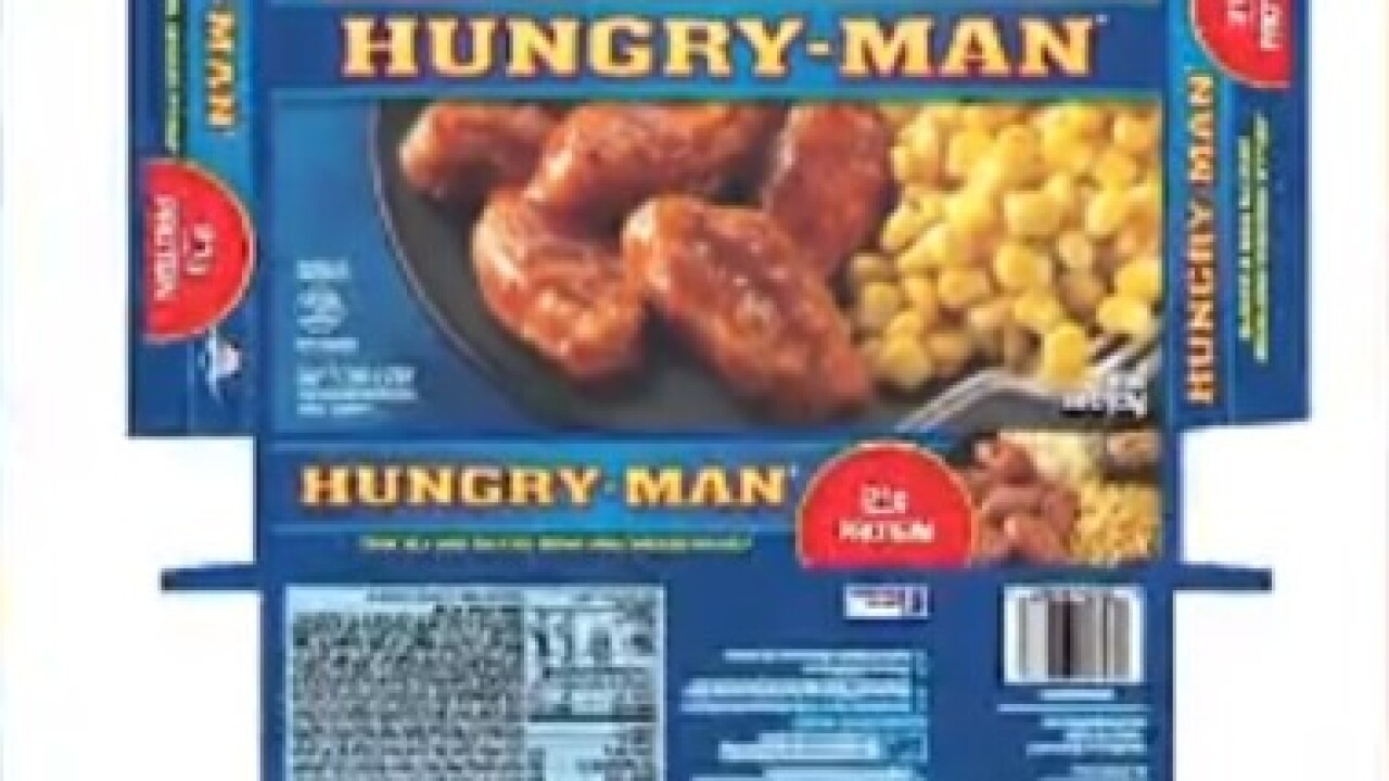 Hungry Man recalls certain wings over salmonella concerns
