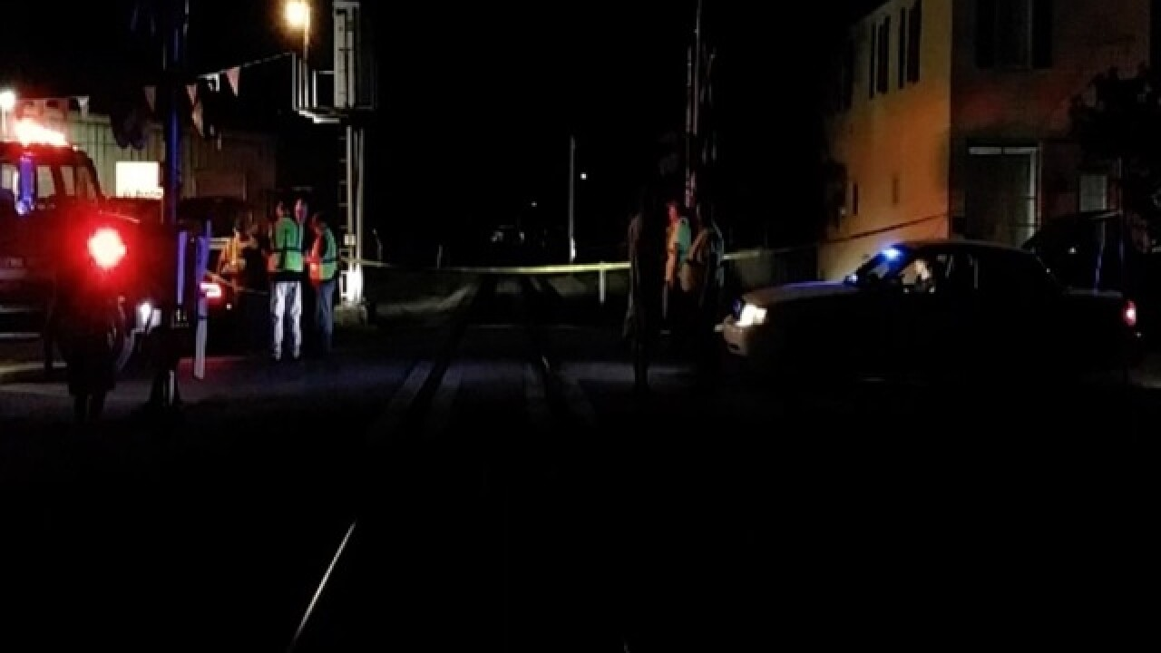 Train hits Ohio man at Augusta crossing