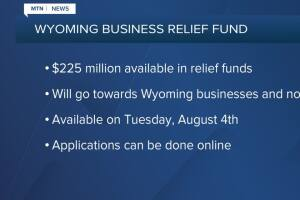 Wyoming doling out $225M in coronavirus relief dollars to businesses