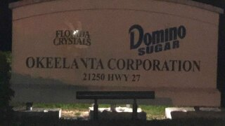Fire extinguished at Okeelanta sugar mill property in South Bay