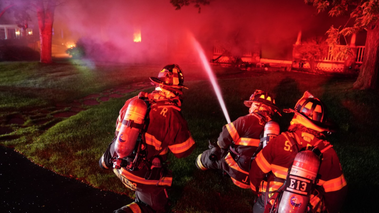 South Metro Fire Rescue at Arapahoe County house fire July 1 2019