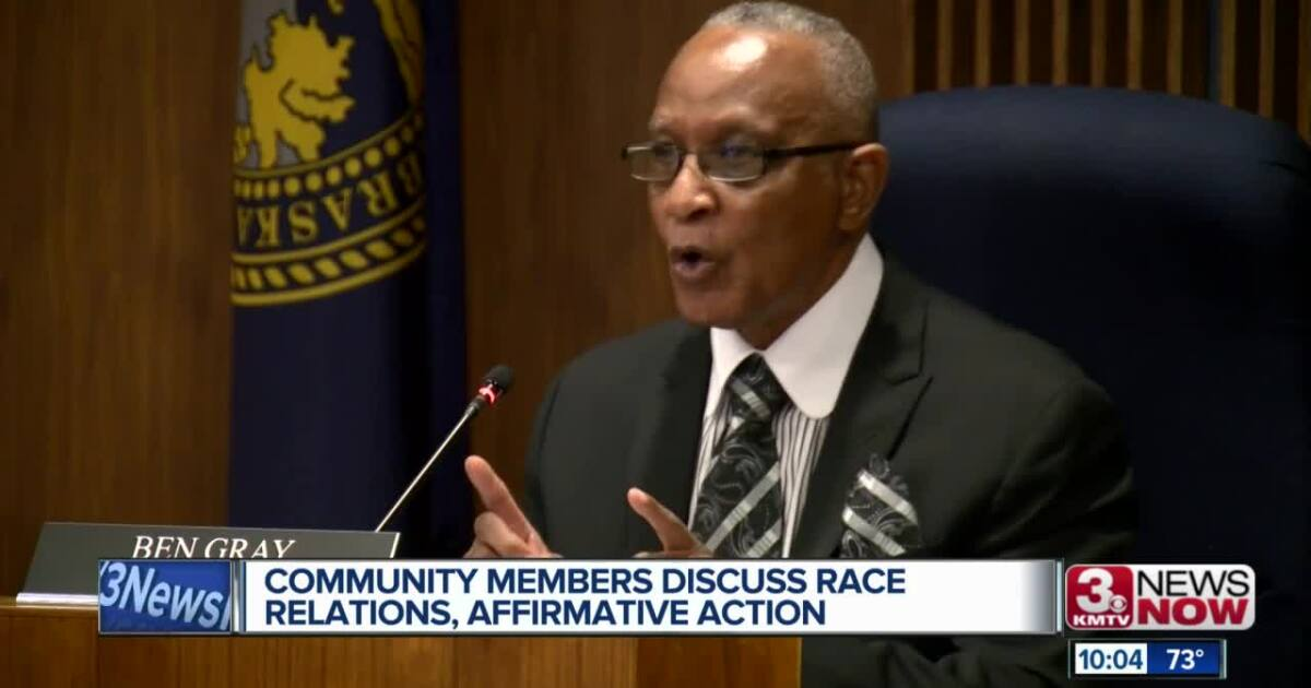Omaha City Council discusses racism, affirmative action at Tuesday meeting