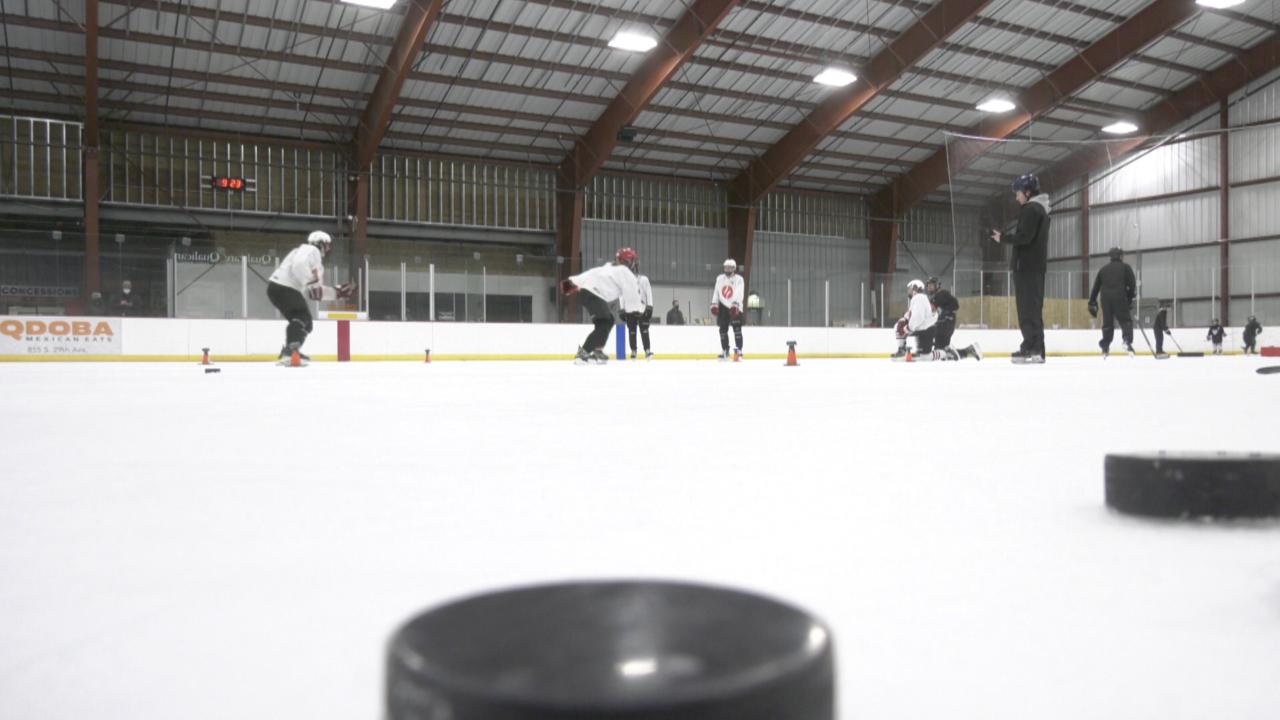 Montana State Bobcats hockey coach Pete Kamman hosts skill development clinic