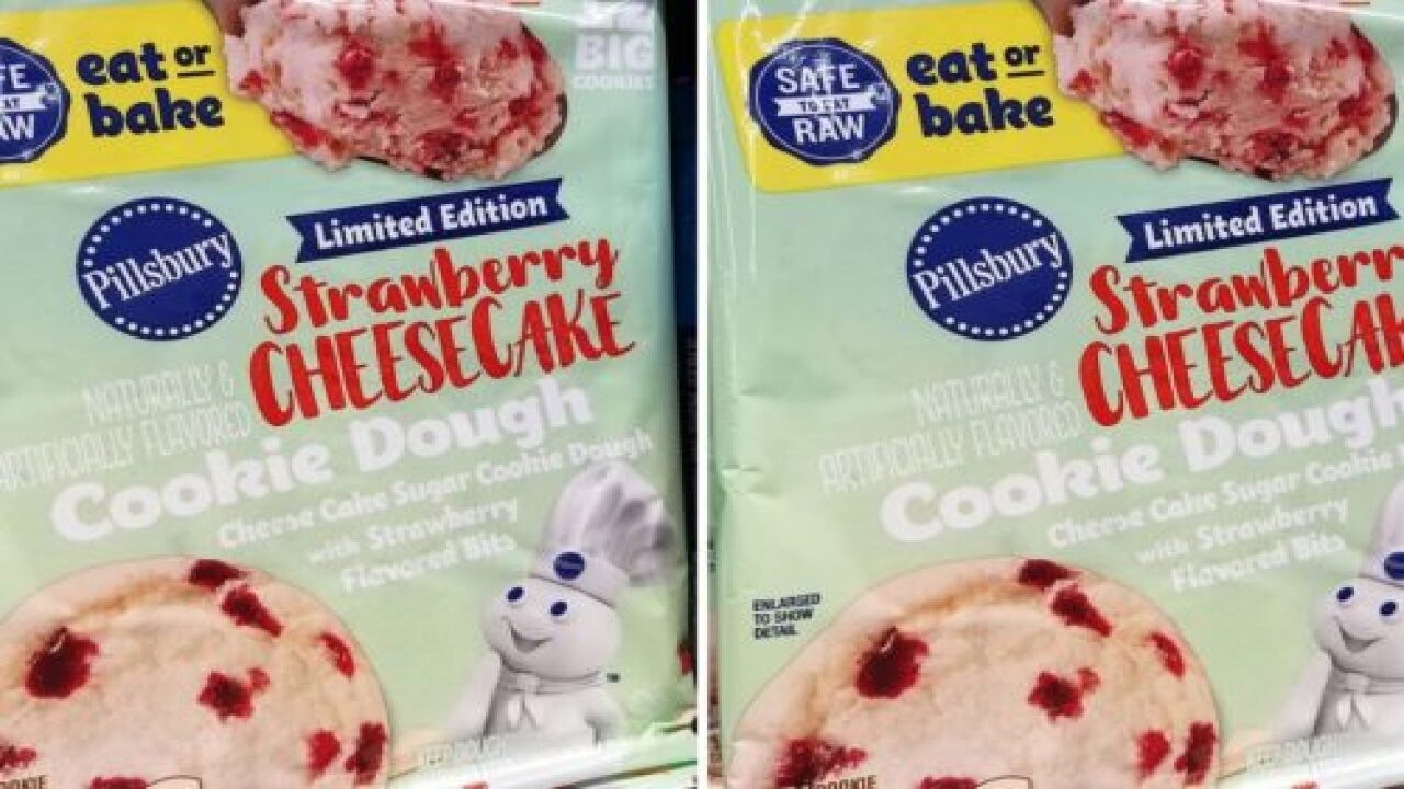 Pillsbury's New Refrigerated Cookie Doughs Are Safe To Eat Raw