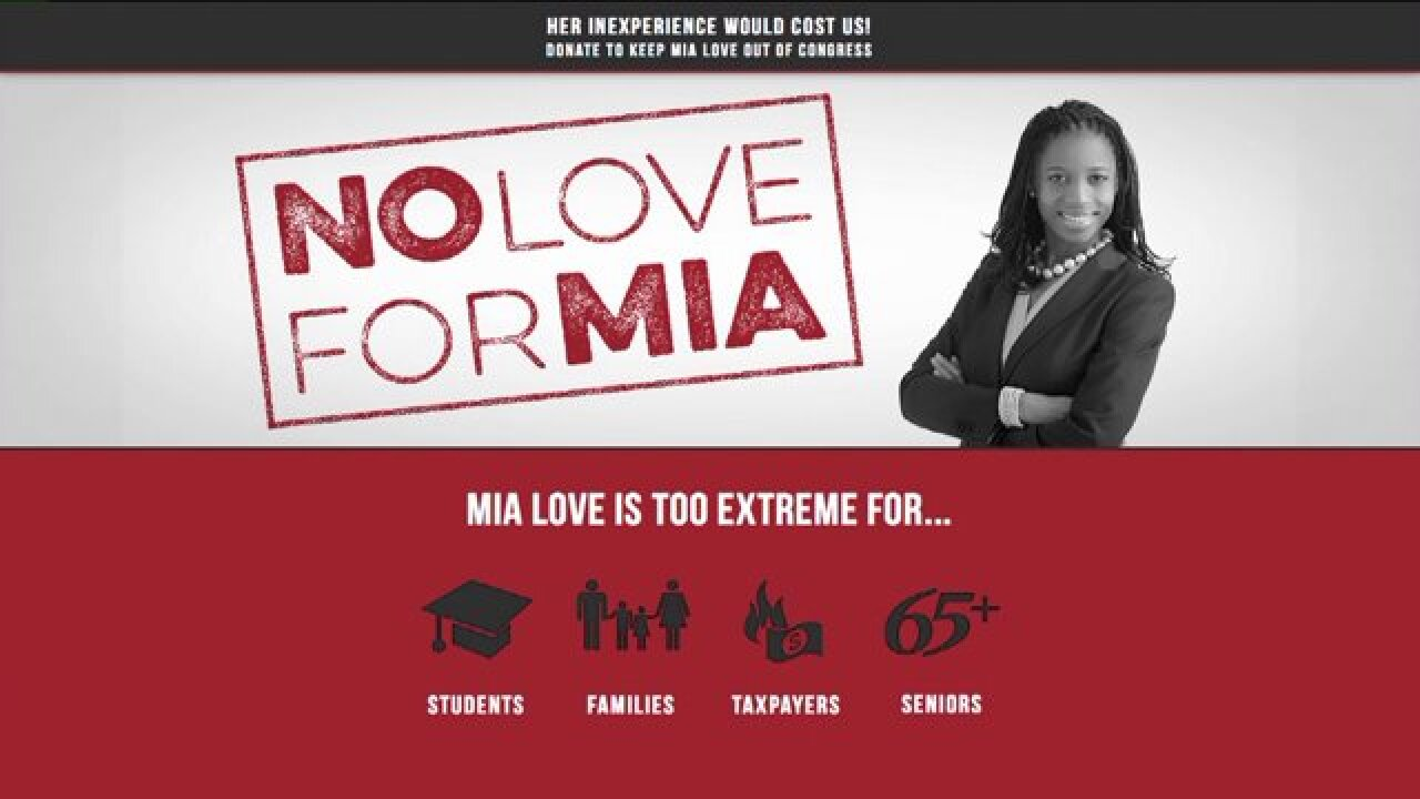 Utah Dems take aim at Mia Love on new website