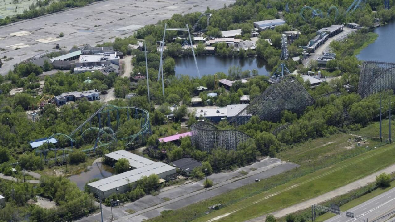 Six flags New Orleans - The Advocate