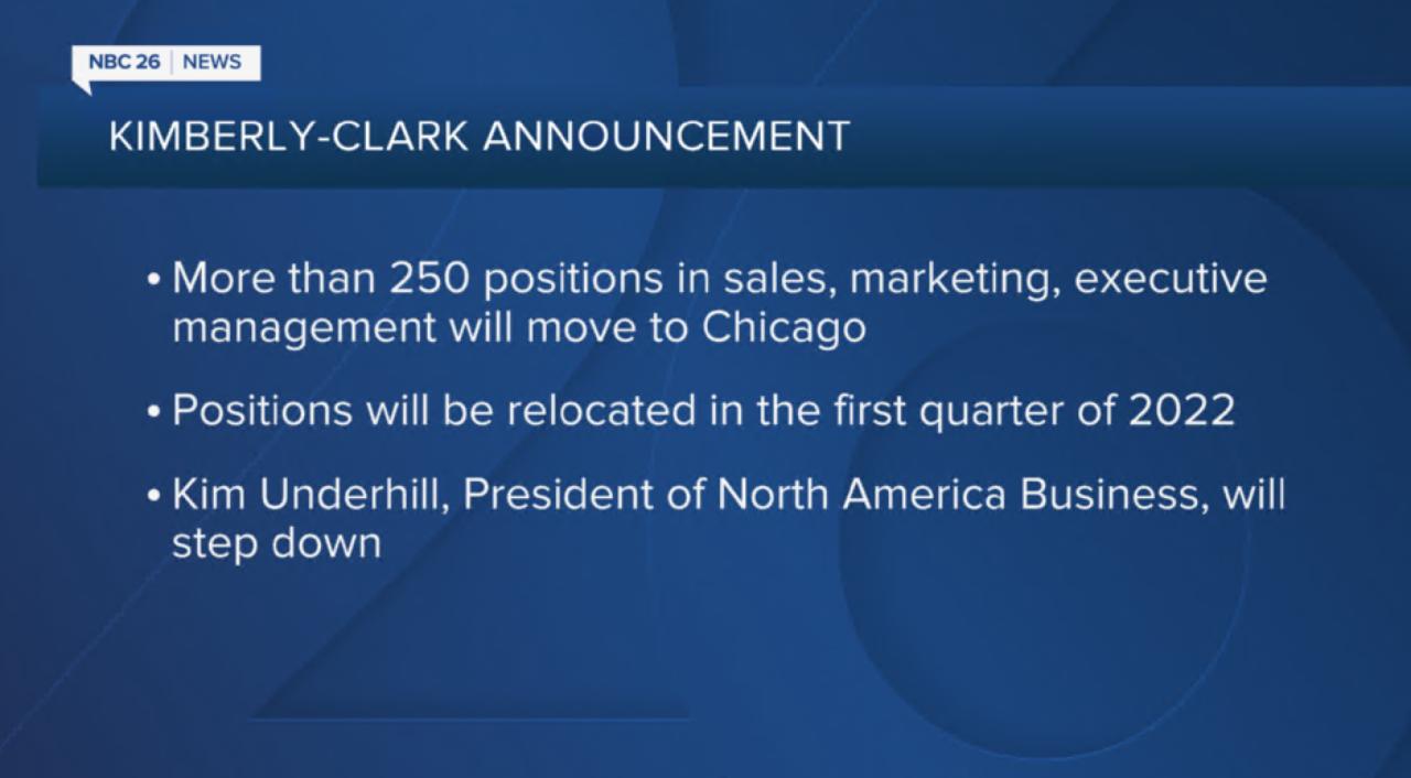 Kimberly-Clark Announcement