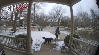 Doorbell camera image