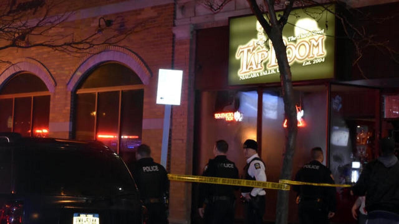 Four people stabbed at Falls nightclub