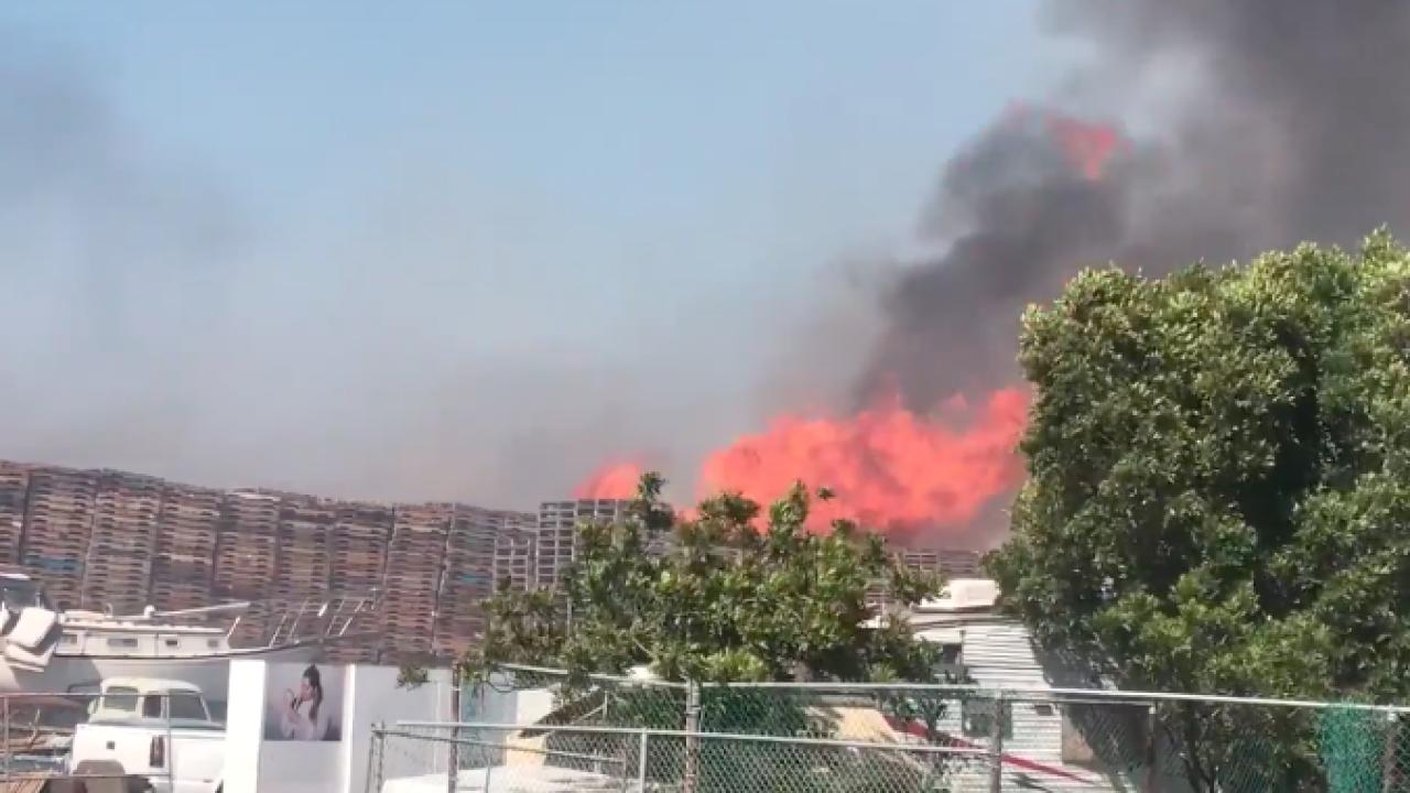 Caliente Fire