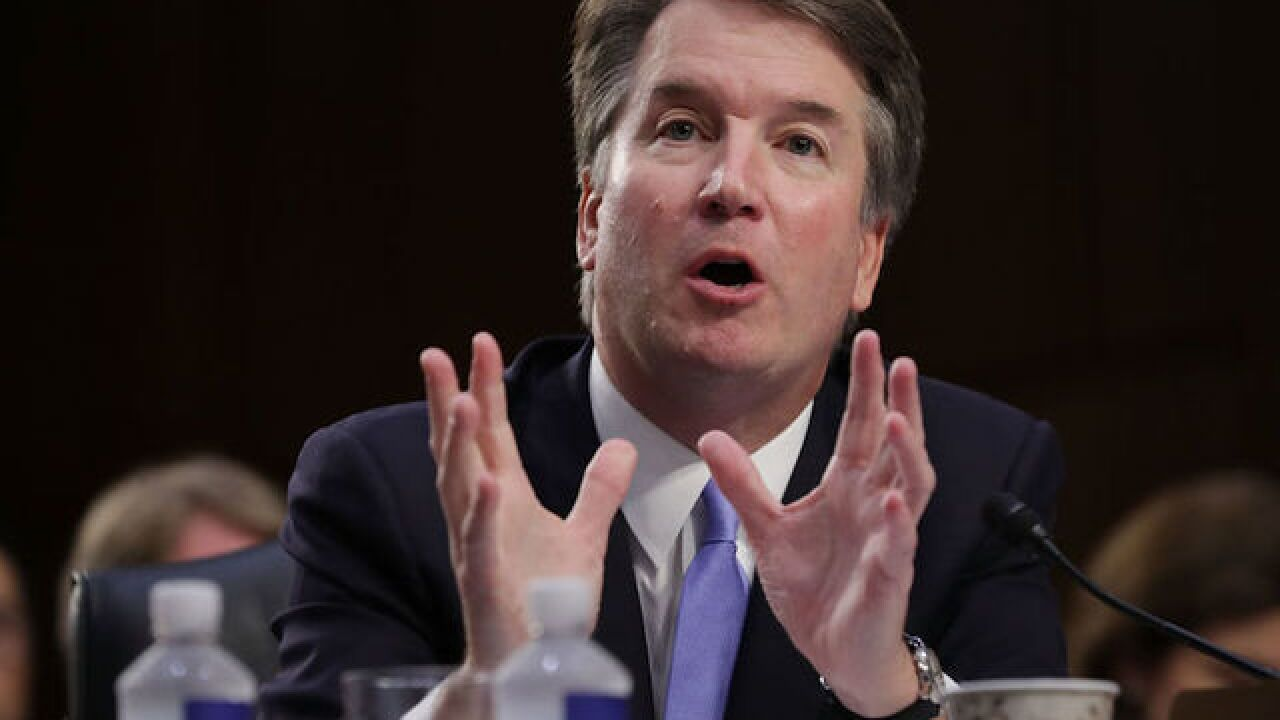 'Stop Kavanaugh' message on display at Emmy Awards