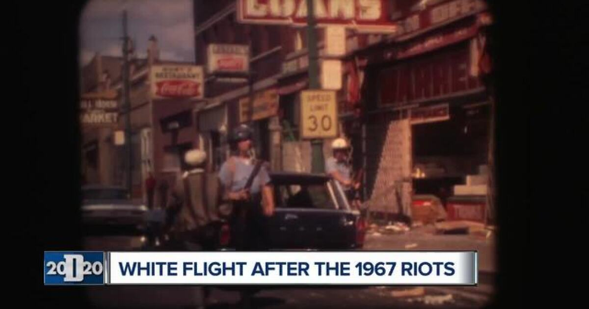 White flight and what it meant to Detroit in the wake of the 1967 riots